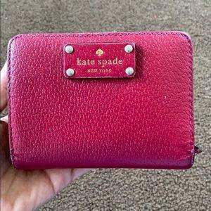 Kate Spade burgundy wallet
